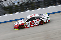 October 5, 2018 - Dover, Delaware, United States of America - Brad Keselowski (2)  takes to the track to practice for the Gander Outdoors 400 at Dover International Speedway in Dover, Delaware. (Credit Image: © Justin R. Noe Asp Inc/ASP via ZUMA Wire)