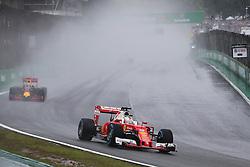Sebastian Vettel (GER) Ferrari SF16-H.<br /> 13.11.2016. Formula 1 World Championship, Rd 20, Brazilian Grand Prix, Sao Paulo, Brazil, Race Day.<br />  <br /> / 131116 / action press