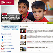 www.mercycorps.org home page, July 2015.