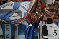Esultanza Erto'o dopo il gol <br /> Inter vs Palermo<br /> Tim Cup, finale di Coppa Italia di calcio<br /> Stadio Olimpico, Roma, 29/05/2011<br /> Photo Antonietta Baldassarre Insidefoto