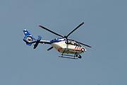 Nederland, Nijmegen, 18-7-2014Een politiehelicopter vliegt boven de stad.FOTO: FLIP FRANSSEN/ HOLLANDSE HOOGTE
