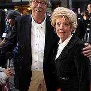 NLD/Amsterdam/20080901 - Premiere film Bikkel over het leven van Bart de Graaff, vader Fred de Graaff en partner Sia