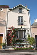 house along the river tain l hermitage rhone france