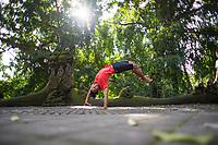 Sugeng Madeira at the Monkey Forest, Ubud Bali Sugeng Madeira at the Monkey Forest, Ubud Bali
