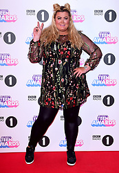 Gemma Collins attending BBC Radio 1's Teen Awards, at the SSE Arena, Wembley, London.