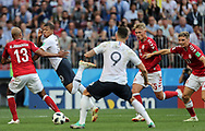 Kylian Mbappe of France during the 2018 FIFA World Cup Russia, Group C football match between Denmark and France on June 26, 2018 at Luzhniki Stadium in Moscow, Russia- Photo Tarso Sarraf / FramePhoto / ProSportsImages / DPPI