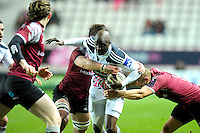 Djibril Camara - 11.12.2014 - Stade Francais / Newcastle Falcons - European Rugby Challenge Cup<br />