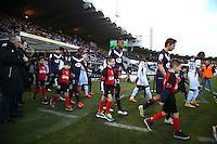 Isaac Kiese Thelin / Clement Chantome - 01.02.2015 - Bordeaux / Guingamp - 23eme journee de Ligue 1 -<br />Photo : Manuel Blondeau / Icon Sport