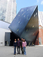 """Last Visit with my Sirna San Francisco Group. Outside the Contemporary Jewish Museum """"The Yud"""". Image taken with a Leica D-Lux 5 camera (ISO 80, 5 mm, f/2.8, 1/320 sec)."""