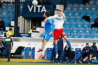 Harry Cardwell. Stockport County FC 1-1 Dagenham & Redbridge. Vanarama National League. Edgeley Park. 11.5.21