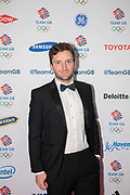 British former track cyclist Callum Skinner at Team GB's annual ball at Old Billingsgate on the 21st November 2019 in London in the United Kingdom.