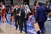 DESCRIZIONE : Eurolega Euroleague 2015/16 Group D Dinamo Banco di Sardegna Sassari - Brose Basket Bamberg<br /> GIOCATORE : Andrea Trinchieri Romeo Sacchetti<br /> CATEGORIA : Fair Play Postgame<br /> SQUADRA : Brose Basket Bamberg<br /> EVENTO : Eurolega Euroleague 2015/2016<br /> GARA : Dinamo Banco di Sardegna Sassari - Brose Basket Bamberg<br /> DATA : 13/11/2015<br /> SPORT : Pallacanestro <br /> AUTORE : Agenzia Ciamillo-Castoria/L.Canu