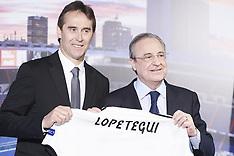 Julen Lopetegui presented as new Real Madrid head coach - 14 June 2018