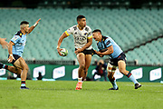 Salesi Rayasi.Waratahs v Hurricanes. 2021 Super Rugby Trans Tasman Round 1 Match. Played at Sydney Cricket Ground on Friday 14 May 2021. Photo Clay Cross / photosport.nz