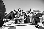 June 13-18, 2017. 24 hours of Le Mans. 7 Toyota Racing, Toyota TS050 Hybrid, Mike Conway, Kamui Kobayashi, Stephane Sarrazin, 8 Toyota Racing, Toyota TS050 Hybrid, Anthony Davidson, Sebastien Buemi, Kazuki Nakajima, 9 Toyota Racing, Toyota TS050 Hybrid, Jose Maria Lopez, Nicolas Lapierre, Yuji Kunimoto