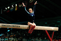01-05-2004 TURNEN: EUROPEES KAMPIOENSCHAP DAMES: AMSTERDAM<br /> Irina Yarotska UKR<br /> ©2004-www.fotohoogendoorn.nl