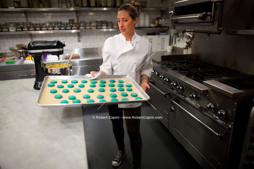 Baker Dana Loia of Dana's Bakery. ..Photo by Robert Caplin..