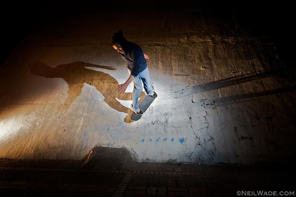 Skateboarding in Taiwan.