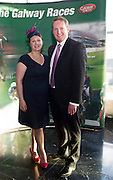 Joan Moloney and Michael Moloney Galway Race Course Manager at the launch of The Galway Races 2016 Summer Festival which runs from the 25th of July to the 31st of July in Galway City. Photo: Andrew Downes :