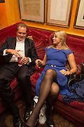 CLARE MILFORD HAVEN, Launch of book by Nicholas Coleridge.- The Adventuress. Annabels. Berkeley Sq. London. 9 October 2012.