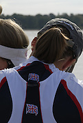 Reading, Great Britain,  GBR LW4X, left to right , Sophie Hosking, Laura Greenhalgh, Mathilde Pauls,  Jane Hall, at the GB Rowing,  2007 World Rowing Championship Team Announcement at the Rowing Training centre, Caversham, ENGLAND 19/07/2007  [Mandatory Credit Peter Spurrier/ Intersport Images] , Rowing course: GB Rowing Training Complex, Redgrave Pinsent Lake, Caversham, Reading