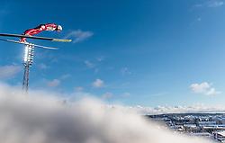 24.02.2017, Lahti, FIN, FIS Weltmeisterschaften Ski Nordisch, Lahti 2017, Nordische Kombination, Skisprung, im Bild Samuel Costa (ITA) // Samuel Costa of Italy during Skijumping of Nordic Combined competition of FIS Nordic Ski World Championships 2017. Lahti, Finland on 2017/02/24. EXPA Pictures © 2017, PhotoCredit: EXPA/ JFK