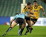 Ben May. Waratahs v Hurricanes. 2012 Super Rugby round 15 match. Allianz Stadium, Sydney Australia on Saturday 2 June 2012. Photo: Clay Cross / photosport.co.nz
