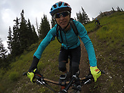 SHOT 8/5/17 2:01:41 PM - GoPro Hero 5 photos while riding Brian Head Resort in Brian Head, Utah with Vesta Lingvyte of Denver, Co. (Photo by Marc Piscotty / © 2017)