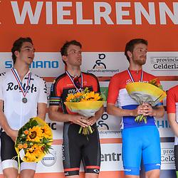 18-06-2017: Wielrennen: NK Paracycling: Montferland<br /> s-Heerenberg (NED) wielrennen, Andre Wijnhous, Arnoud Nijhuis, Stijn Boersma en Caroline Groot