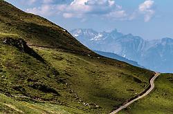 THEMENBILD - eine Alm Strasse ins nirgendwo, aufgenommen am 15. Juni 2017, Kaprun, Österreich // A road to nowhere on 2017/06/15, Kaprun, Austria. EXPA Pictures © 2017, PhotoCredit: EXPA/ JFK
