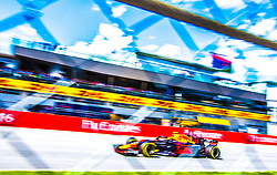 July 1, 2018 - Spielberg, Austria - Max Verstappen of Netherland and Red Bull Racing driver goes during the race at Austrian Formula One Grand Prix on July 01, 2018 in Red Bull Ring, Spielberg, Austria. (Credit Image: © Robert Szaniszlo/NurPhoto via ZUMA Press)