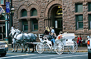 Jim Thorpe, Carbon Co., PA, fall festival carriage rides