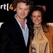 NLD/Amsterdam/20100304 - Premiere 4000ste aflevering Goede Tijden Slechte Tijden, Sjoerd Dragtsma en partner Nanna