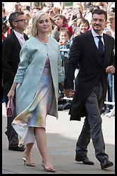 August 31, 2019, York, United Kingdom: KATY PERRY and ORLANDO BLOOM arriving at the Ellie Goulding and Caspar Jopling wedding at York Minster, United Kingdom. (Credit Image: © Stephen Lock/i-Images via ZUMA Press)
