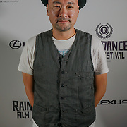 London, England, UK. 28th September 2017.Director Eiji Uchida of Love and other Cults attend Raindance Film Festival Screening at Vue Leicester Square, London, UK.