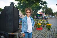 DEU, Deutschland, Germany, Woltersdorf, 11.08.2021: Portrait von Anna Emmendörffer, Spitzenkandidatin (Listenplatz 3) von BÜNDNIS 90/DIE GRÜNEN in Brandenburg für die Bundestagswahl.