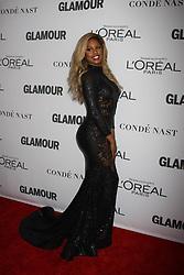 November 13, 2017 - New York City, New York, USA - 11/13/17.Laverne Cox at The 2017 Glamour Women of the Year Awards in Brooklyn, New York. (Credit Image: © Starmax/Newscom via ZUMA Press)