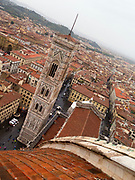View of Giotto's Campanile from Basilica of Santa Maria del Fiore