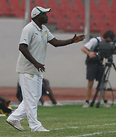Photo: Steve Bond/Richard Lane Photography.<br />Senegal v South Africa. Africa Cup of Nations. 31/01/2008. Temporary Senegal manager Lamine Ndiaye