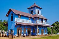 Sri Lanka, province du sud, district de Matara, temple de Devinuwara Devalaya // Sri Lanka, Southern Province, Matara district, Devinuwara Devalaya temple