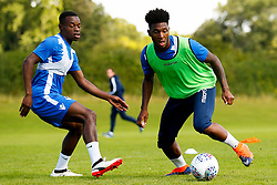 Ellis Harrison and Marc Bola of Bristol Rovers train - Mandatory by-line: Matt McNulty/JMP - 31/07/2017 - FOOTBALL - Bristol Rovers Training Ground - Bristol, England - Bristol Rovers Training