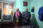 Roma man and wife in their home. Bogota, Columbia<br /> <br /> Roma came to the Americas as early as Christopher Columbus's first voyage. Roma were exported and sold as slaves along with negroes from Africa. Europe tried to solve its 'roma problem' by deporting many Roma slaves to the americas. In the 1920s Roma, Chinese and mentally handicapped were not allowed to enter the USA anymore. After that Roma went to South America and the Carribean with a view to traveling north across borders, but many ended up by setting up communities in the southern hemisphere. Nowadays about two million Roma live between North and South America.