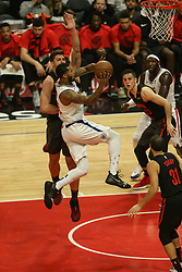 December 17, 2018 - Los Angeles, CA, U.S. - LOS ANGELES, CA - DECEMBER 17: Los Angeles Clippers Forward Mike Scott (30) in the lane during the Portland Trail Blazers at Los Angeles Clippers NBA game on December 17, 2018 at Staples Center in Los Angeles, CA.. (Photo by Jevone Moore/Icon Sportswire) (Credit Image: © Jevone Moore/Icon SMI via ZUMA Press)