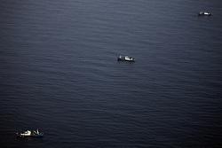 ATLANTIC OCEAN 30OCT14 - Three Chinese fishing vessels at work in the Atlantic Ocean off the coast of Guinea.<br /> <br /> jre/Photo by Jiri Rezac / Greenpeace<br /> <br /> <br /> © Jiri Rezac 2014