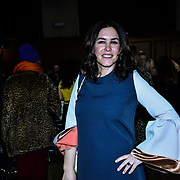 Guest attend The British luxury Womenswear designer, Chanel Joan Elkayam, showcases her Autumn - Winter 2020 show ahead of London Fashion Week on 13 February 2020 at Cecil Sharp House, London, UK.