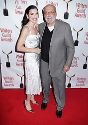 Juliannna Margulies and Richard Schiff arrivals at the Writers Guild Awards 2019 in New York City, USA on February 17, 2019.