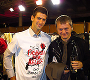 Novak Djokovic and Mo Stojnovic..Fashion For Relief Japan Fundraiser Hosted by Naomi Campbell..2011 Cannes Film Festival..Cannes Center..Cannes, France..Monday, May 16, 2011..Photo By CelebrityVibe.com..To license this image please call (212) 410 5354; or.Email: CelebrityVibe@gmail.com ;.website: www.CelebrityVibe.com.**EXCLUSIVE**