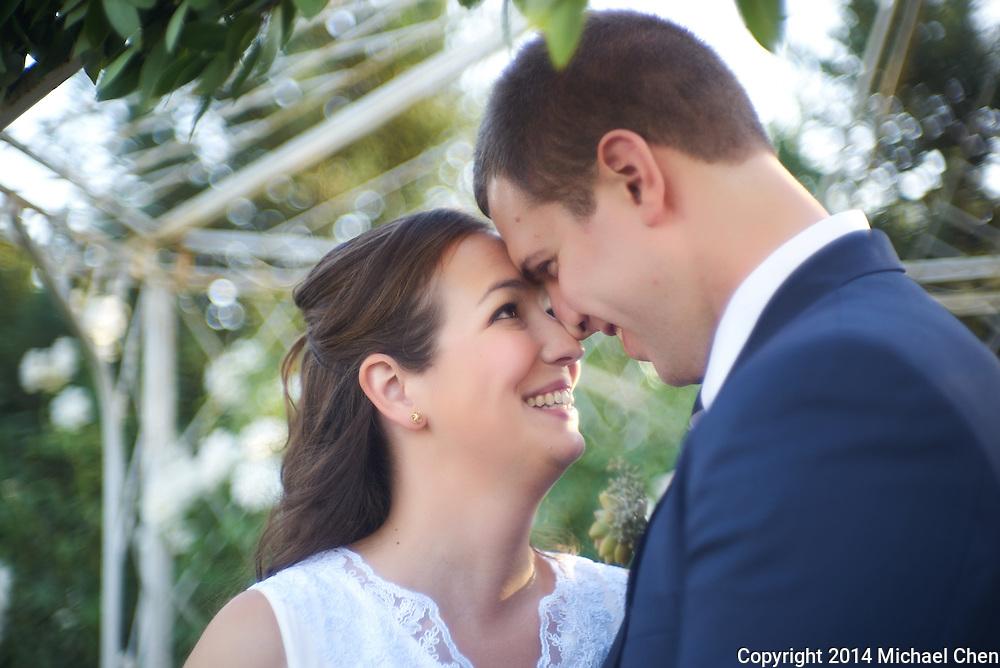 2014/10/25 -- Kellye & Chris Wedding -- Grace Maralyn Estate & Gardens in Atascadero, Calif., on Oct. 25, 2014.<br /> <br /> Photo by Michael Chen/Scott Roeder Photography