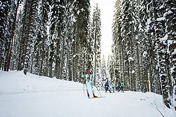 Athletes during Slovenian National Cup in Biathlon, on December 30, 2017 in Rudno polje, Pokljuka, Slovenia. Photo by Ziga Zupan / Sportida