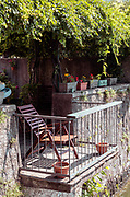 Madello del Lario, Lecco: tiny balcony on the lake of a private house